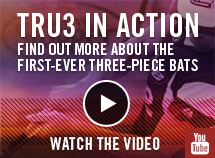 TRU3 In Action Find Out More About The First-Ever Three-Piece Bats